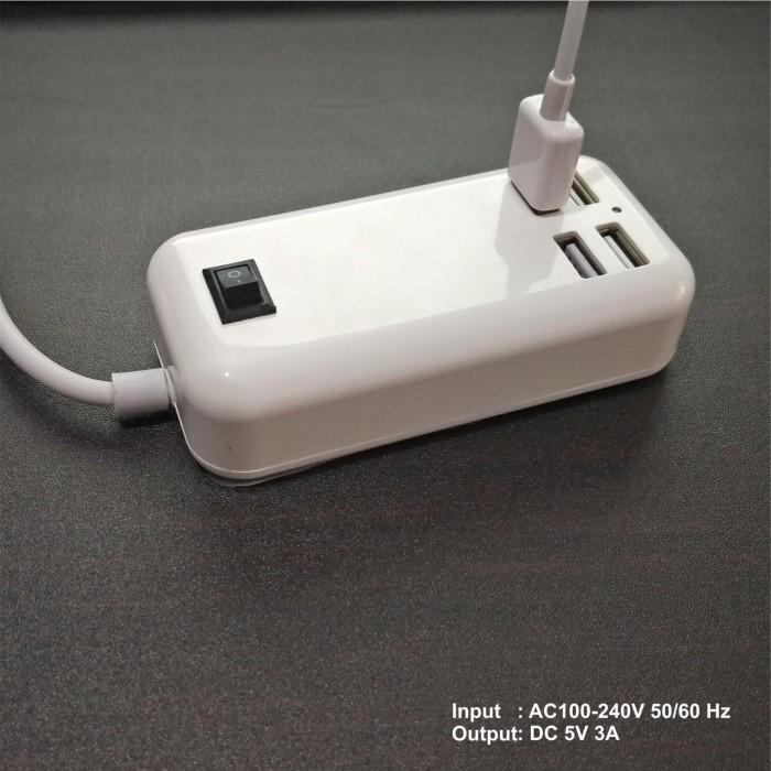 WEI TECH CHARGER USB 4-Ports 15W 8002 TERLARIS