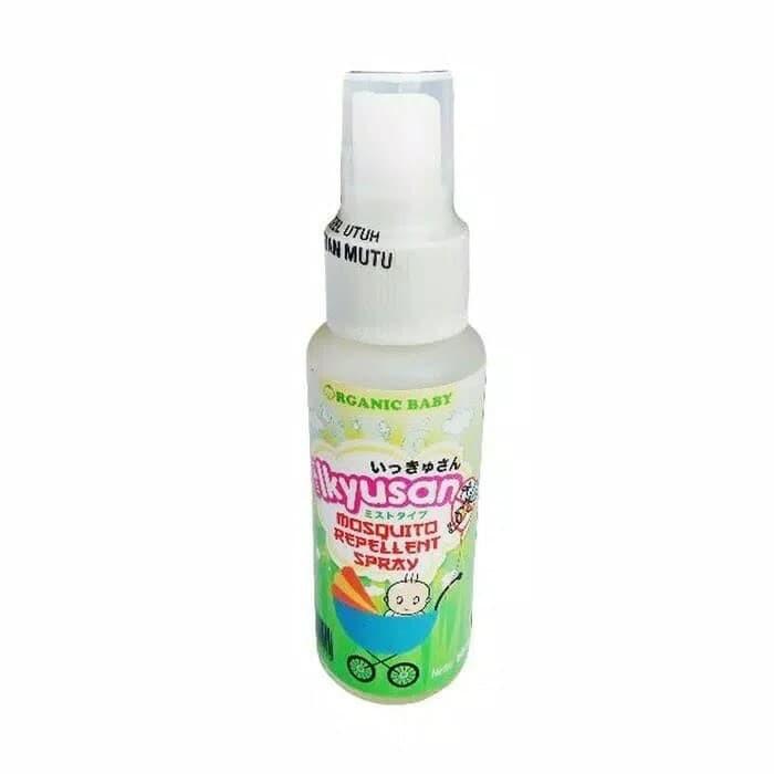 harga Ikyusan mosquito repellent spray anti nyamuk untuk bayi Tokopedia.com
