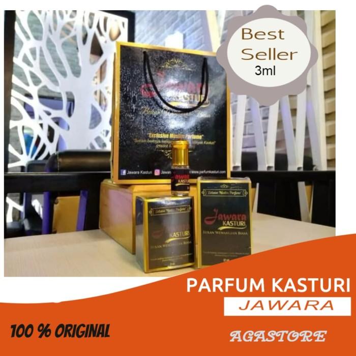 Terlaris Original Minyak Wangi Kasturi Jawara Parfum Asli Arab 3ml