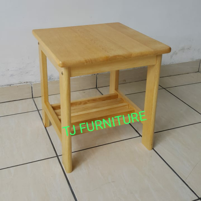 Jual Meja Sudut Meja Samping Meja Kecil Kayu Solid Murah Kota Sukabumi Tj Furniture Tokopedia