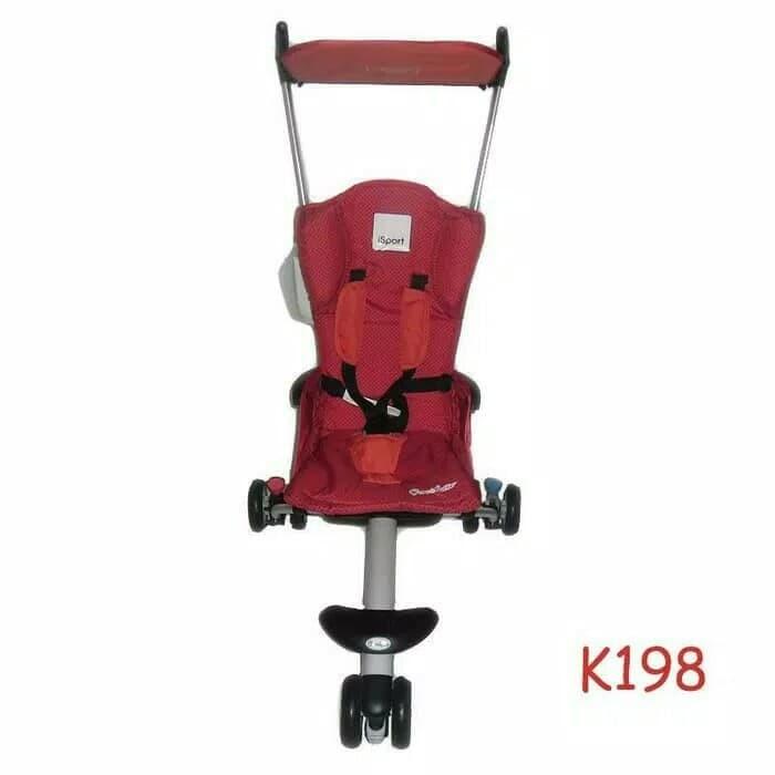 harga Stroller Baby Cocolatte Isport K198 D Red / Troli bayi roda 3 Tokopedia.com