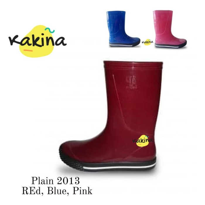 harga Sepatu boots anak rubber Tokopedia.com