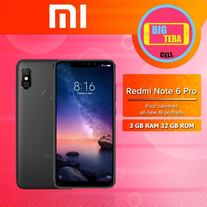 Jual Hp Xiaomi Xiomi Redmi Note 6 Pro Ram 3gb 32gb Not 6 Pro
