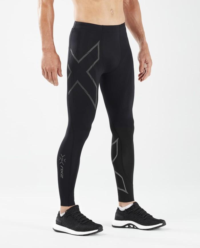 harga 2xu men's mcs run compression tights w back storage [ma5305b blk/brf] - hitam m Tokopedia.com