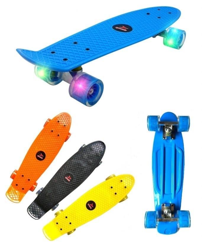 Penny Board Skateboard Fish Banana Board Pennyboard Anak 22 inch 028-1