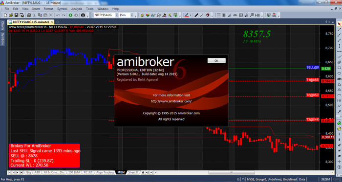 Foto Produk Amibroker Professional Edition 6.20.1 dari Goodard Shop