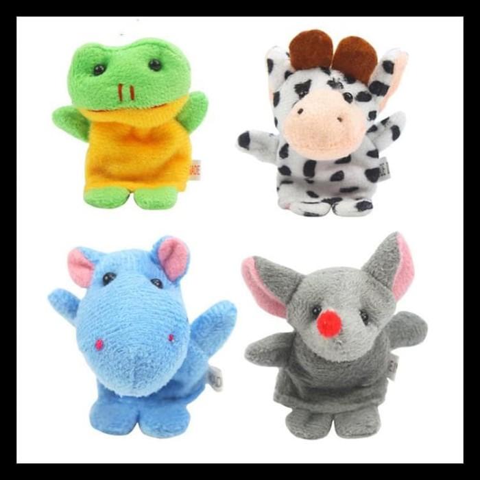 Jual Terbaru Set Boneka Jari Hewan Binatang Mainan   Animal Finger ... b2ad6121c9