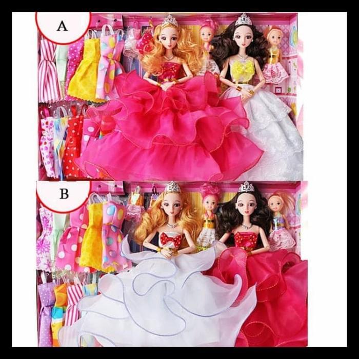 Jual Terpercaya Mainan Anak Boneka Barbie Set Terbaru ... 5393c34fda