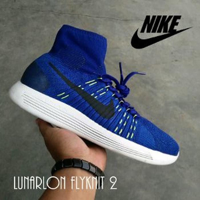 promo code 6d317 a484d Jual Jual sepatu pria nike lunarlon lunarepick flyknit 2 premium Diskon -  SINTESA STORE 89   Tokopedia