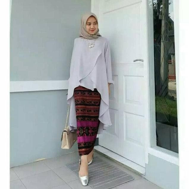Jual Dress Kebaya Modern Hijab Remaja Style Modis Cantik Brokat Aurora Two Dki Jakarta Fitrowatiineke Tokopedia