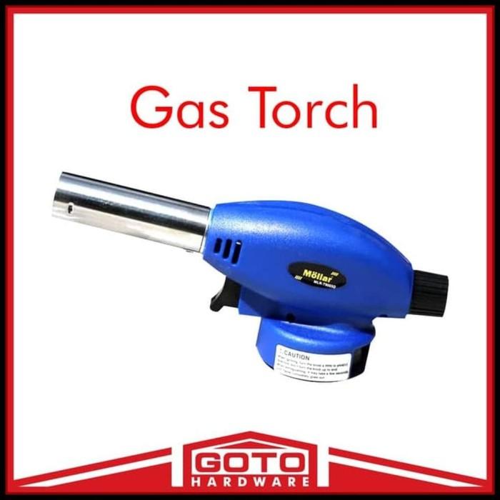 Kualitas Terbaik Gas Torch Mollar Blow Pematik Multi Purpose Alat Las