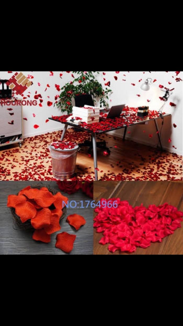 Jual Kelopak Mawar Kelopak Bunga Merah Artifisial Red Rose Petals Kota Bandung Lamborghini Store