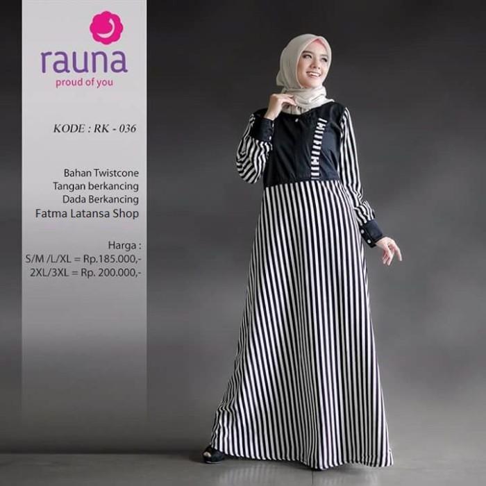 Jual gamis katun rauna rk 036 dress wanita bisa busui baju - Eliza ... 94ec6fae6f