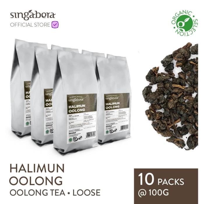 harga Singabera halimun oolong - teh oolong - organic - 100g Tokopedia.com
