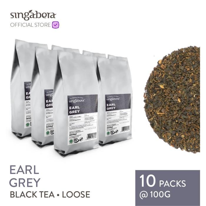 harga Singabera earl grey - black tea / teh hitam - 100g Tokopedia.com