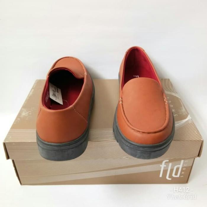 Sepatu Fladeo FLD LSFM31TAN501 sepatu slipon sepatu flat - Cokelat Muda 0c8643ea4b