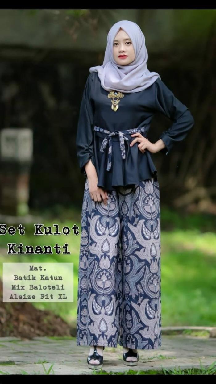 Jual Kebaya Bali Tunik Atasan Wanita Hijab Kutubaru Batik