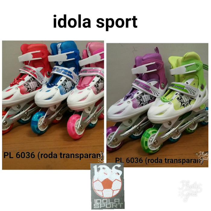 harga Sepatu roda atau inline skate roda bajaj sol jahit Tokopedia.com