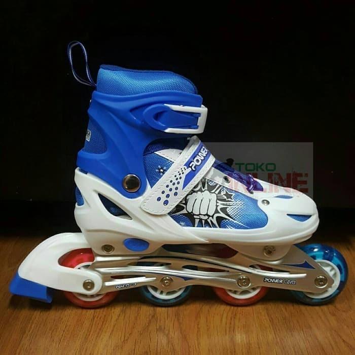 Power Superb Sepatu Roda Inline Biru - Daftar Harga Terupdate Indonesia 818c7e218d