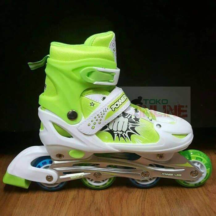 harga Sepatu roda / inline skate power seventh (khusus hijau) Tokopedia.com
