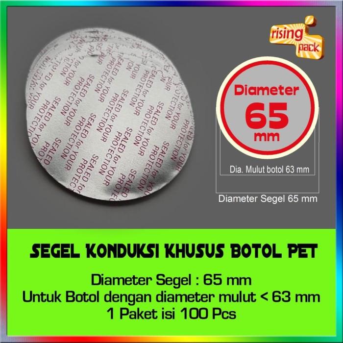 harga Aluminium foil botol pet diameter 65 mm Tokopedia.com