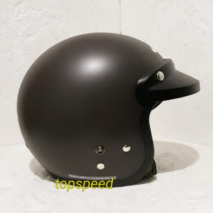 harga Helm cargloss retro coklat doff Tokopedia.com