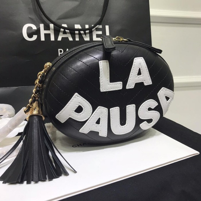 c005ee85317f0f Jual sling bag casual chanel la pausa bag kw vip mirror best quality ...