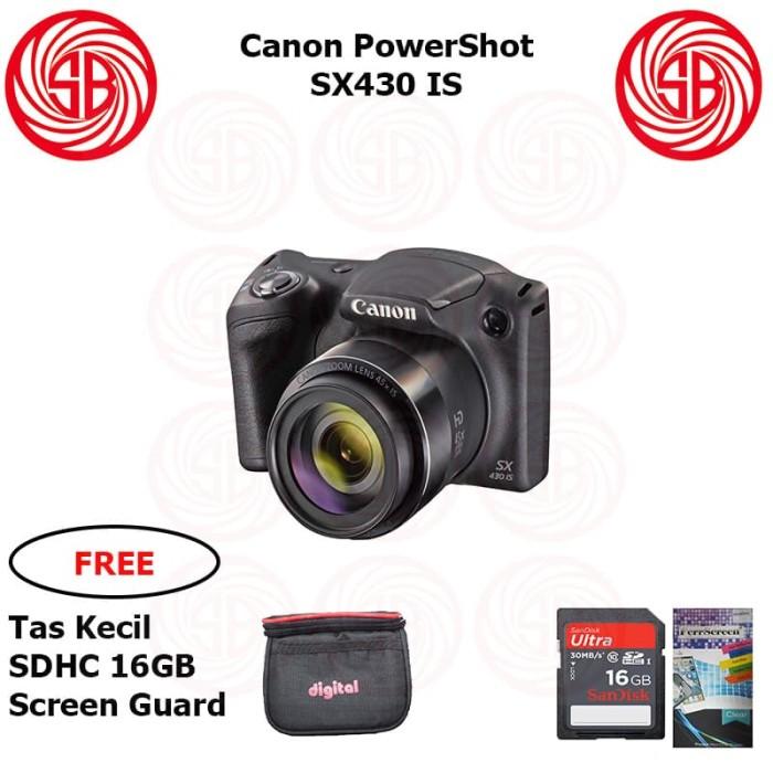 harga Kamera canon powershot sx430 ; camera canon pocket ps-sx 430 is 20mp Tokopedia.com