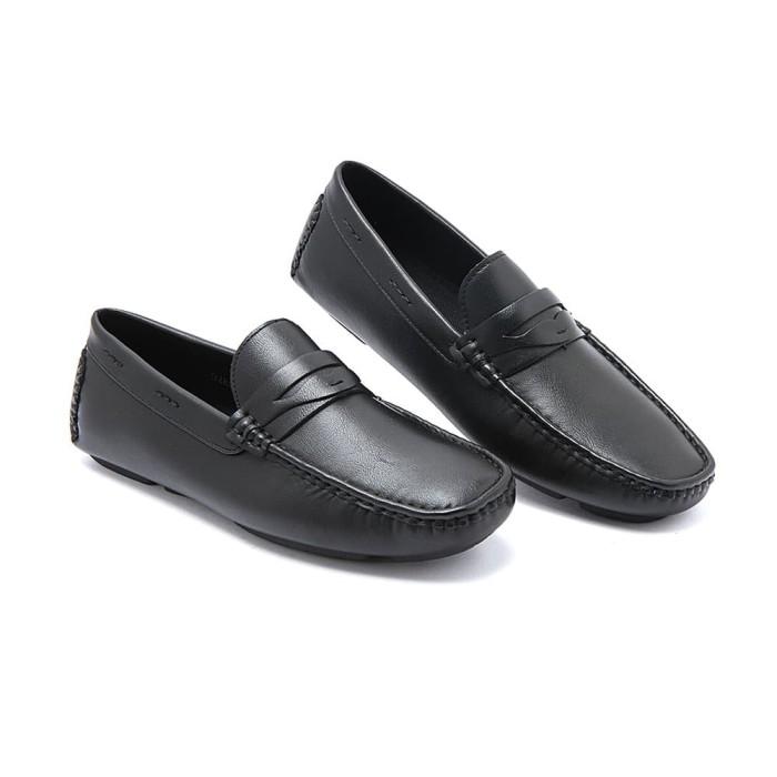 Jual Sepatu Pria Gabino Askara Black (O2BB8003) - Hitam 733a98ec07