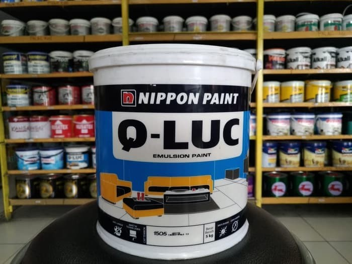 harga Cat tembok qluc 5 kg warna putih Tokopedia.com