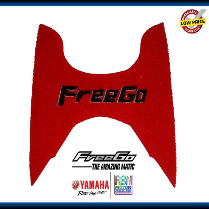 harga Karpet motor freego / aksesoris yamaha freego (costum tulisan) Tokopedia.com