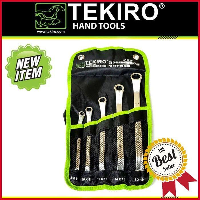 KUNCI RING SET 5 PCS TEKIRO BOX BOXES END WRENCH SET