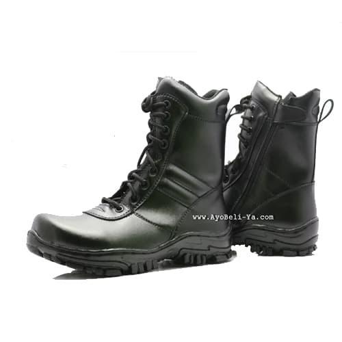 Sepatu PDL Model Jatah TNI AD Murah Asli Bukan Kulit Hitam Model Baru 3cdbb24382