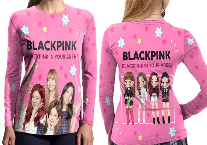 T Shirt Wanita Lengan Panjang New Roblox 3d Fullprint Sublimation Jual Kaos T Shirt Wanita Lengan Panjang Fullprint Design Black Pink Part 2 Kab Bandung Jauzaa Printing Tokopedia