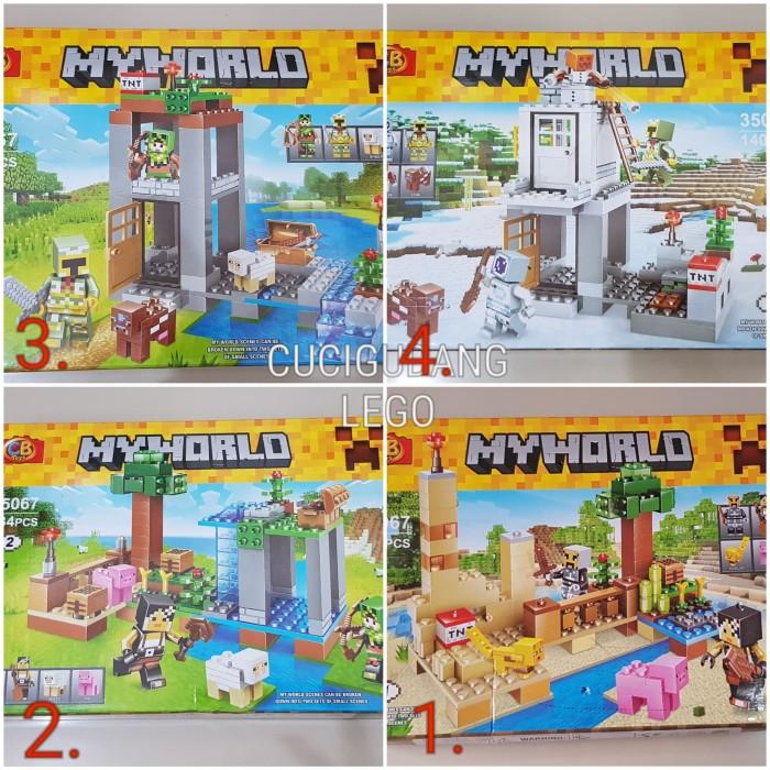 Murah 50 Daftar Harga Lego Minecraft Mine 2019 Terbaru