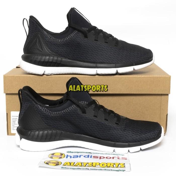 9c17df8a4f1 Sepatu Running Wanita Reebok Print Her 2.0 THRD CM8868 - Blck ORIGINAL -  Hitam