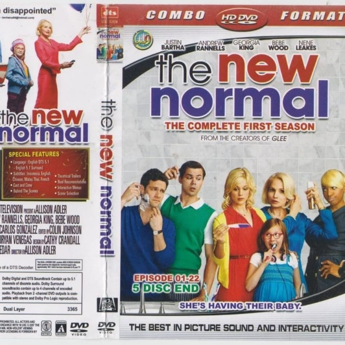 Jual Dvd Series Tv The New Normal Season 1 5disc Jakarta