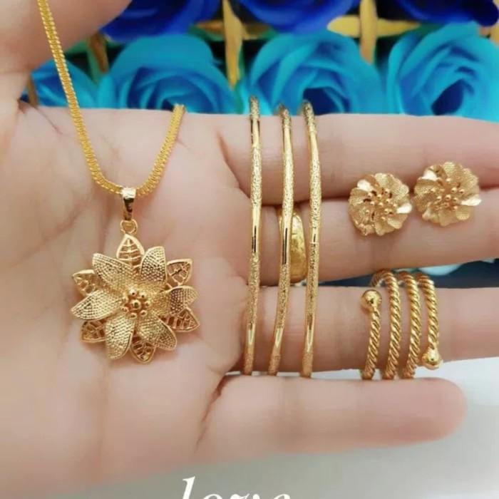 Foto Produk Perhiasan Set Lapis Emas 24K 1310 dari kevin joshe