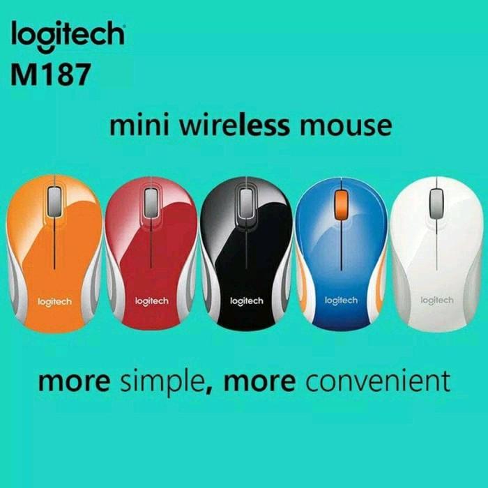 Best mouse logitech wireless m187 / mouse bluetooth Logitech M187