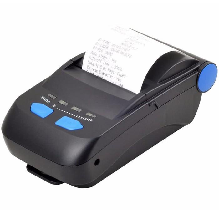 harga (batamit) portable pos thermal receipt printer 58mm bluetooth+usb Tokopedia.com
