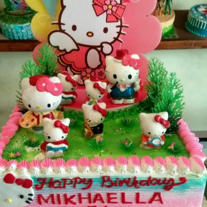Jual Kue Ulang Tahun Hello Kitty Kota Bekasi Chars Cake Shop Tokopedia