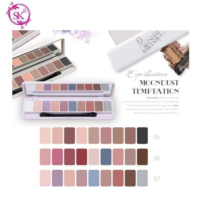 Jual Set Palette Makeup Madame Gie