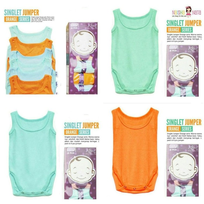 ... KAZEL SINGLET JUMPER NEW COLOR 3 PCS 6 PCS