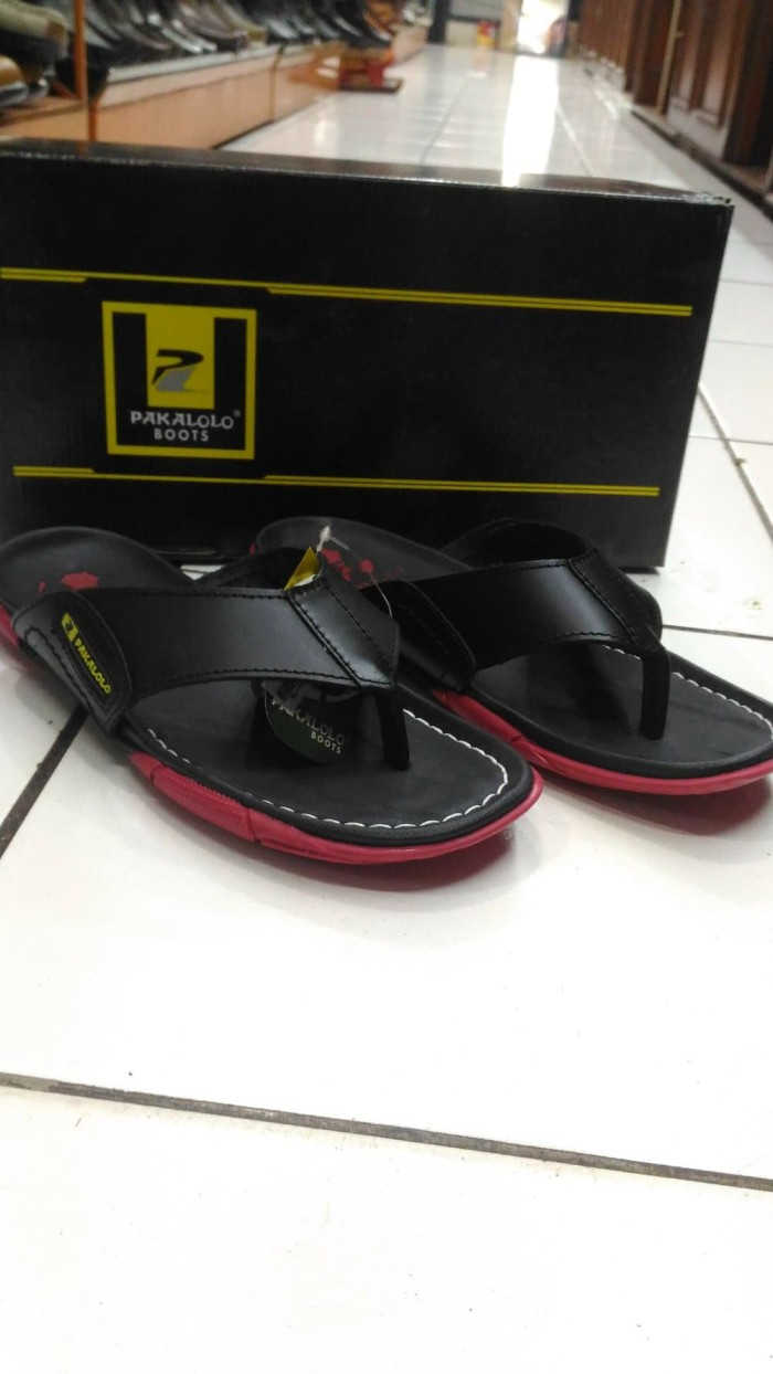 sandal pakalolo 2329 black red new colour Berkualitas