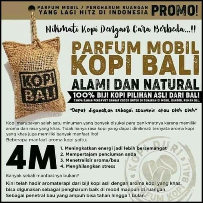 Best Seller Termurah - Pengharum Mobil Kopi Gantung - Kopi Bali Aroma