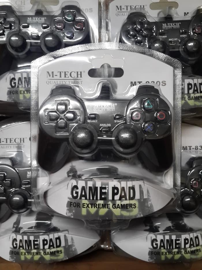 Foto Produk controller gamepad joystick stick stik USB MTECH M-TECH single PC dari GAMEUP.ID