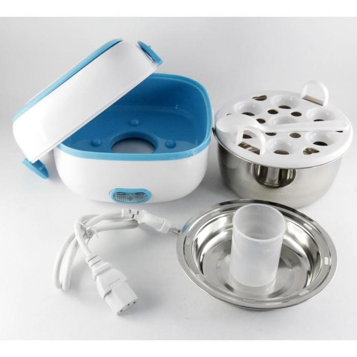 Starhome Rice Cooker Mini 2 Susun Kapasitas 1 L Penanak Nasi Mini Egg