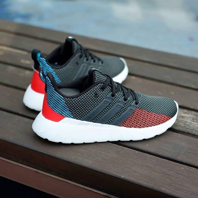 Jual Adidas Questar Flow Navy/red