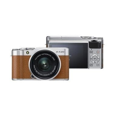 harga Fujifilm x-a20 kit xc 15-45-fuji x-a20 xa 20 kamera fujifilm Tokopedia.com