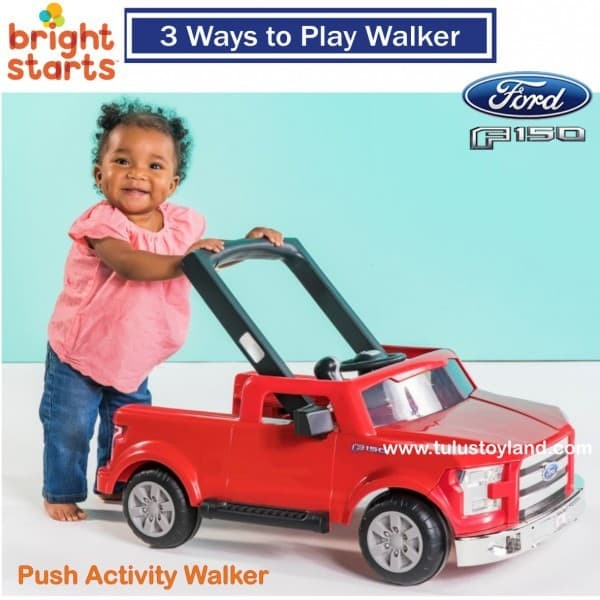 82136e0b34cd Jual Bright Starts 3 Ways to Play Walker Ford F 150 Baby Walker Ford ...